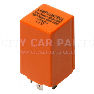 New Saab Headlamp Headlight Control Relay Orange 9-3 9-5 4109070